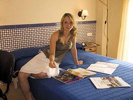 Zimmer im Studentenwohnheim