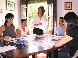 Spanischunterricht an unserer Schule in Granada